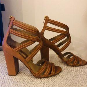 Michael Kors Preston Calf Leather Sandal